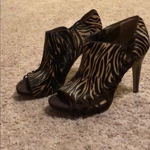 Nine West Cow Leather Bootie